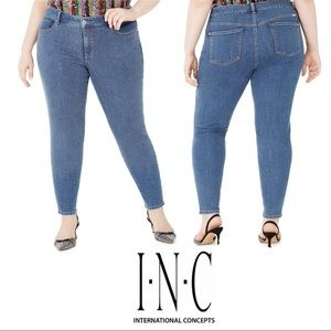 Studded skinny jeans from Inc  plus size 20 NWT
